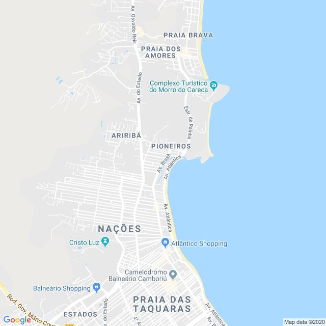 Imagem estática da localização