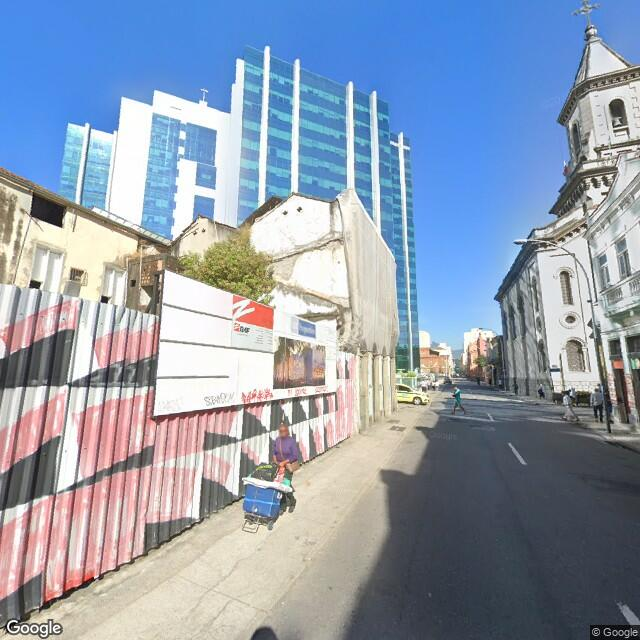 """Imagem estática do """"Street View"""" da localização"""